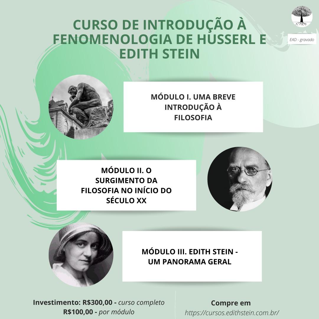 Fenomenologia de Husserl e Edith Stein